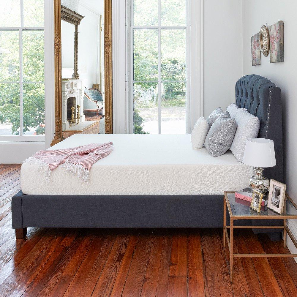 amazoncom classic brands memory foam 8inch mattress full kitchen u0026 dining