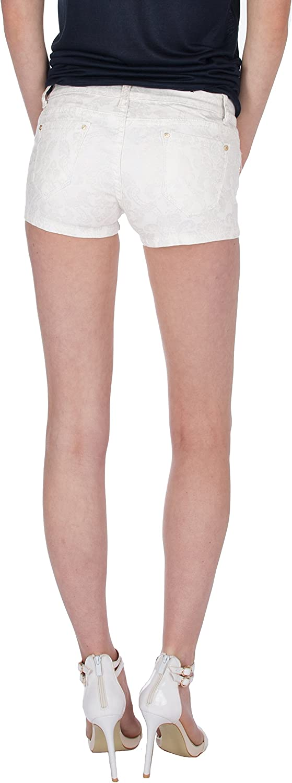 Fraternel Shorts donna pantaloncini hotpants glitterato