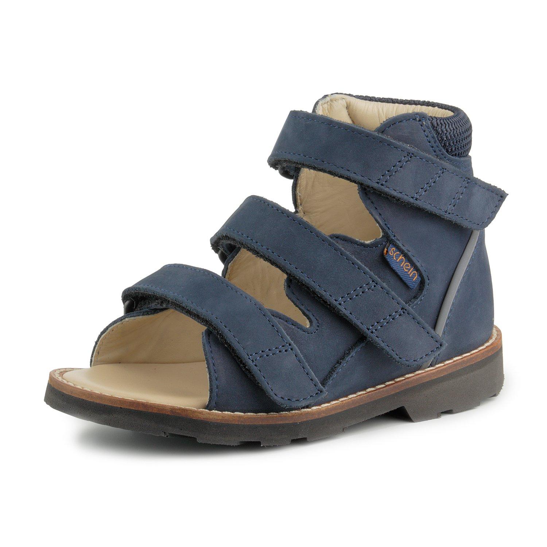 Schein Hero 351080 TN4 Support Ankle Brace Leather Sandal, 10 W US Toddler (25) by Schein