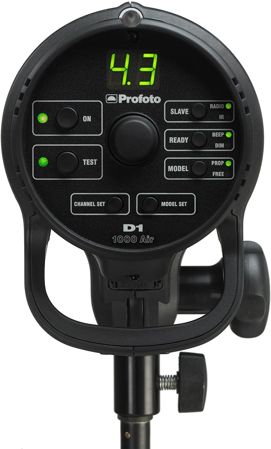 Profoto 901057 D1 Studio Kit 1000//1000 Air without Air Remote Black