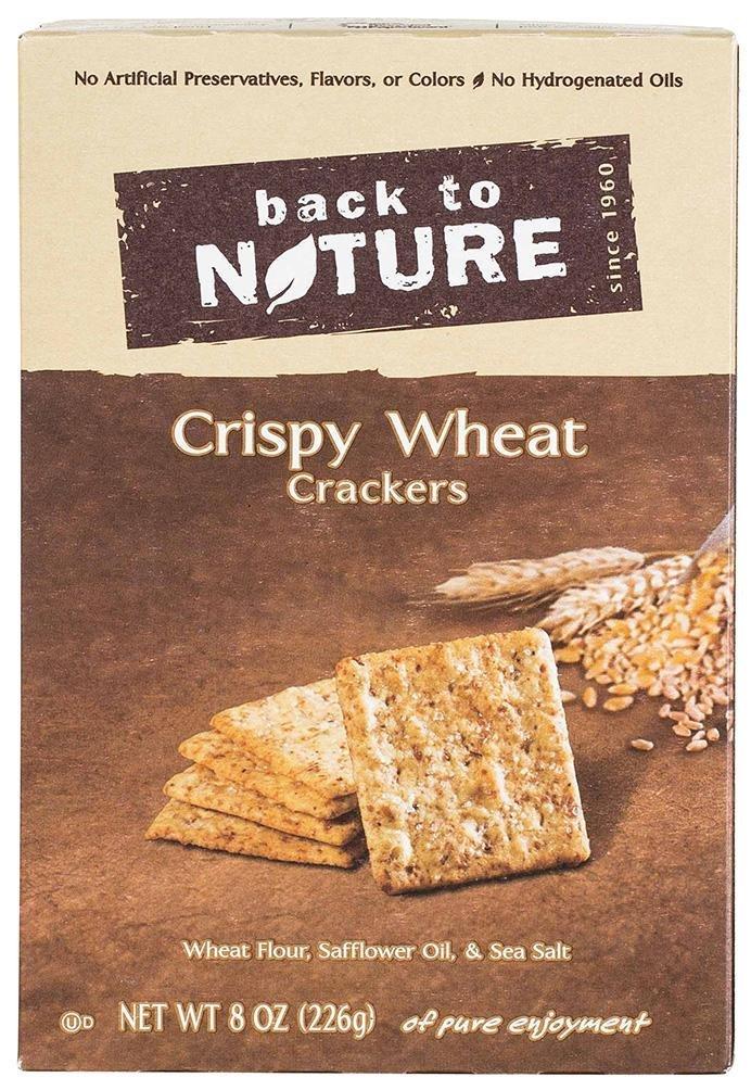 Back to Nature Crackers - Crispy Wheat - 8 oz - 3 pk