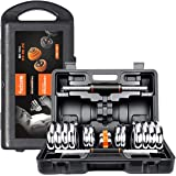 Liadon Adjustable Dumbbells Set with Rack Stand Fitness Barbell for Mens Body Building