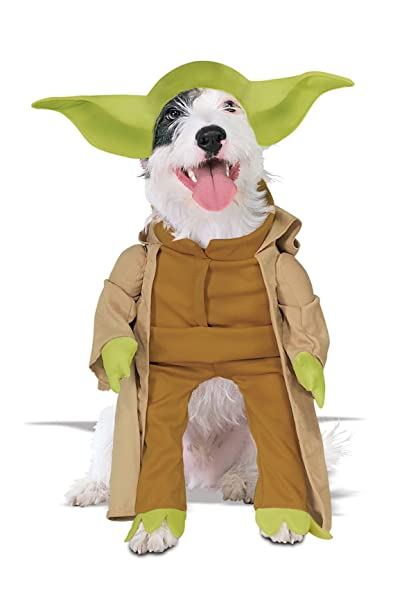 Star Wars Yoda Pet Costume Medium  sc 1 st  Amazon.com & Amazon.com : Star Wars Yoda Pet Costume Medium : Dog Medium Costume ...