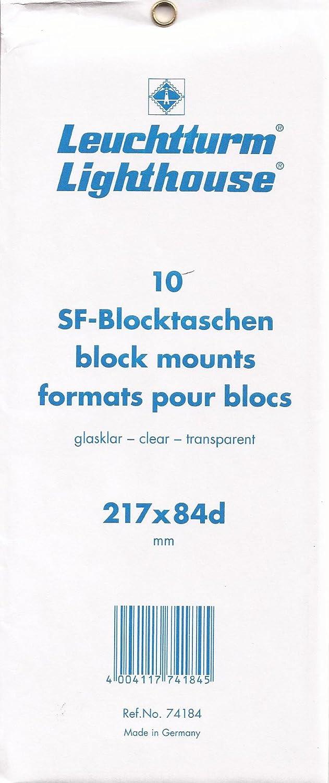 Lighthouse SF-strips 217x84d mm, clear backing film Leuchtturm
