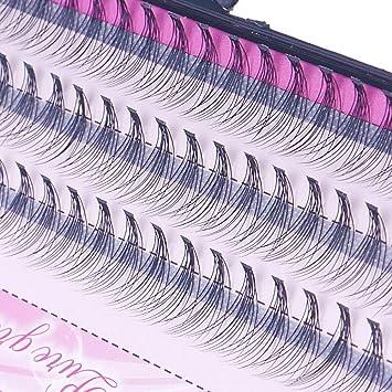 a911aae6e8c Amazon.com : 8/10/12Mm 60 Bundle/Set False Eyelashes Extension Kits Individual  Cluster Natural Long Grafted Fake Eyelashes Beauty Makeup Tool 12mm : Beauty