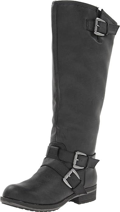 Madden Girl Women's Legacie Boot,Black Paris,8.5 ...