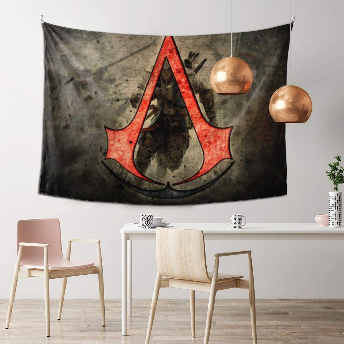 Amazon Com Anime Assassin S Creed Decorative Tapestry Used For