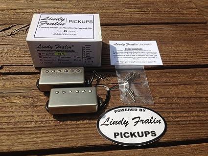 9K Humbucker Pickup Nickel Cover Lindy Fralin Pure P.A.F