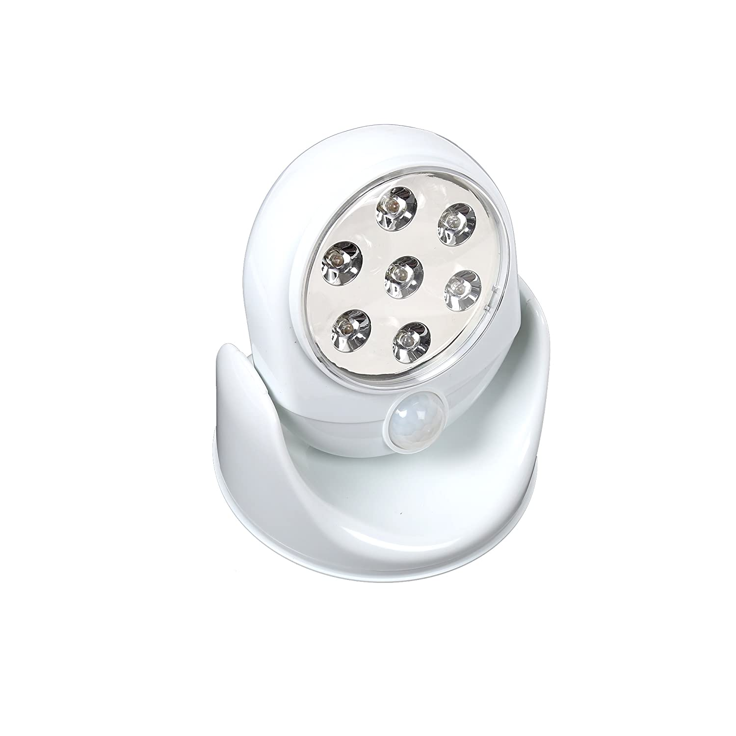 White 5 x 5.5 inches iFocus Electronics Motion Activated LED Light