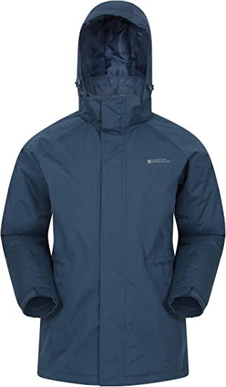 Water Resistant Hood Comfortable /& Longer Outerwear Lightly Padded Great for Everyday Wear Or Walking Mountain Warehouse Westport Womens Winter Long Jacket