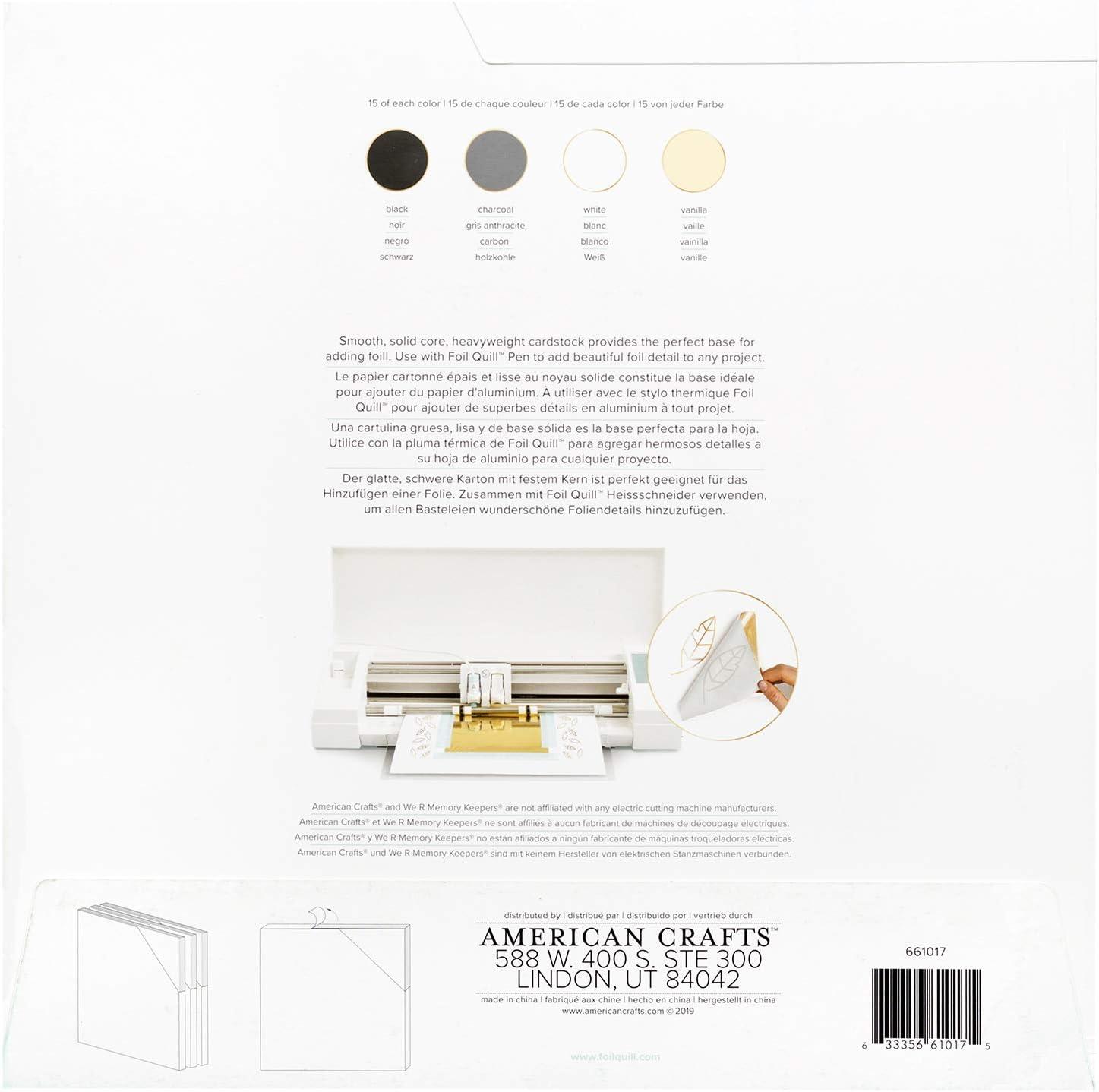 We R Memory Keepers - Caja de plástico (30,5 x 30,5 cm, 60 unidades): Amazon.es: Hogar