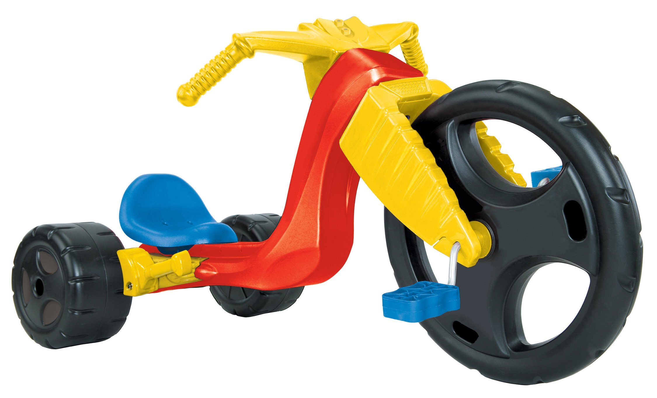 The Original Big Wheel ''Spin Out Racer'' 16'' Ride-On Trike w/ Hand Brake (no decals)