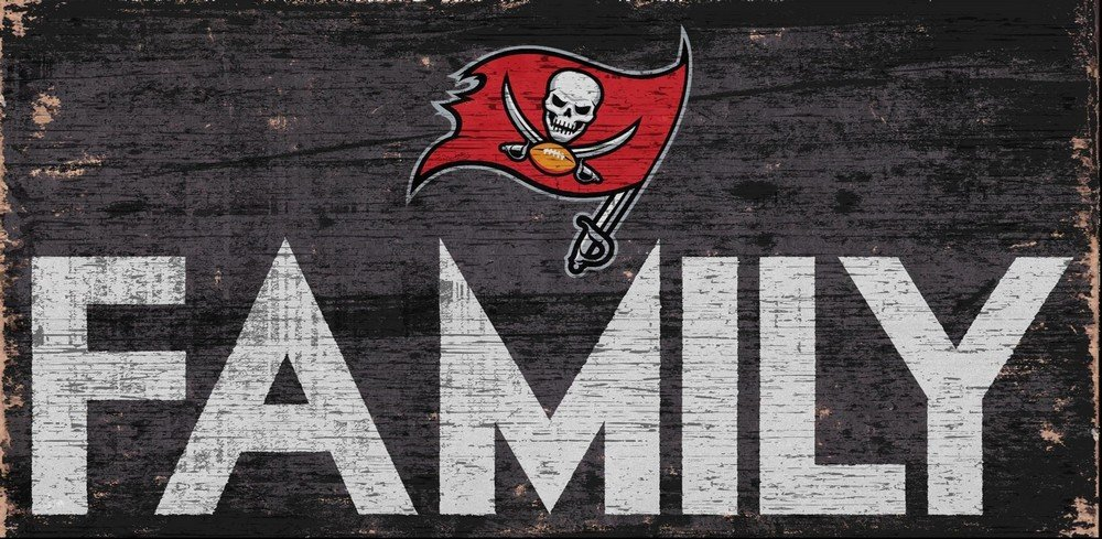 Fan Creations Tampa Bay Buccaneers Family Sign Multi