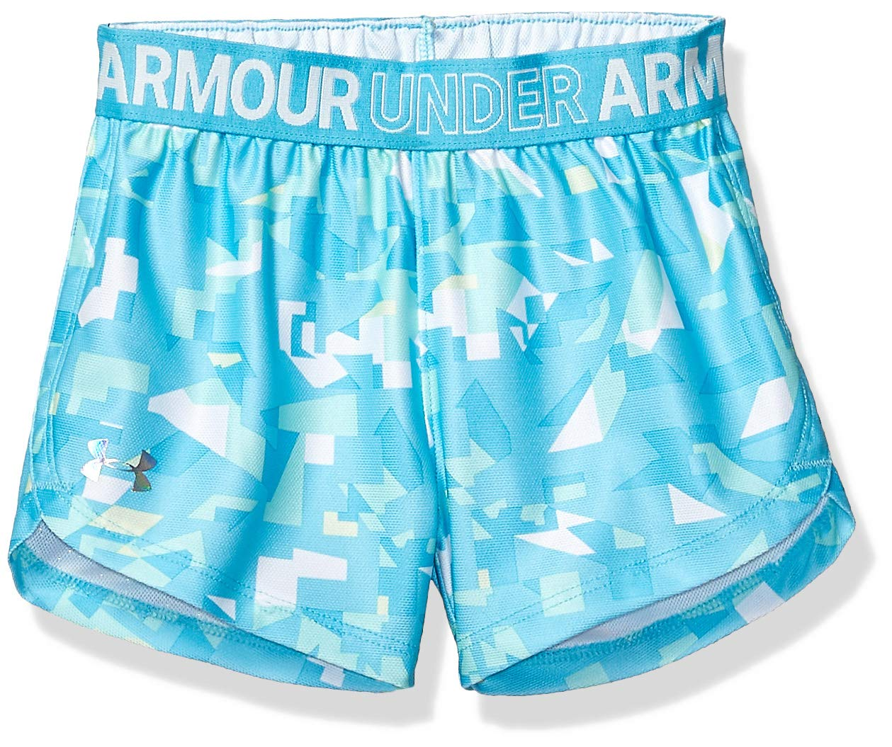 Under Armour Toddler Girl's Play Up Short Shorts, Venetian Blue, 2T by Under Armour