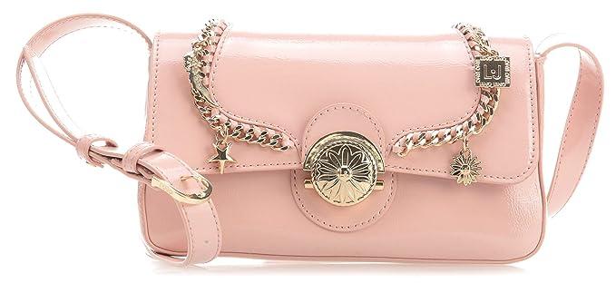 4a07a2fa67 Liu Jo Sovrana Shoulder bag antique pink: Amazon.co.uk: Clothing