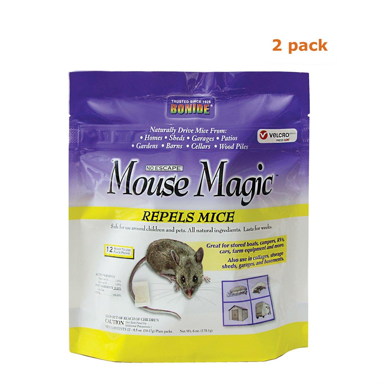 Bonide Mouse Magic Pest Repellent, 2 Pack by Bonide