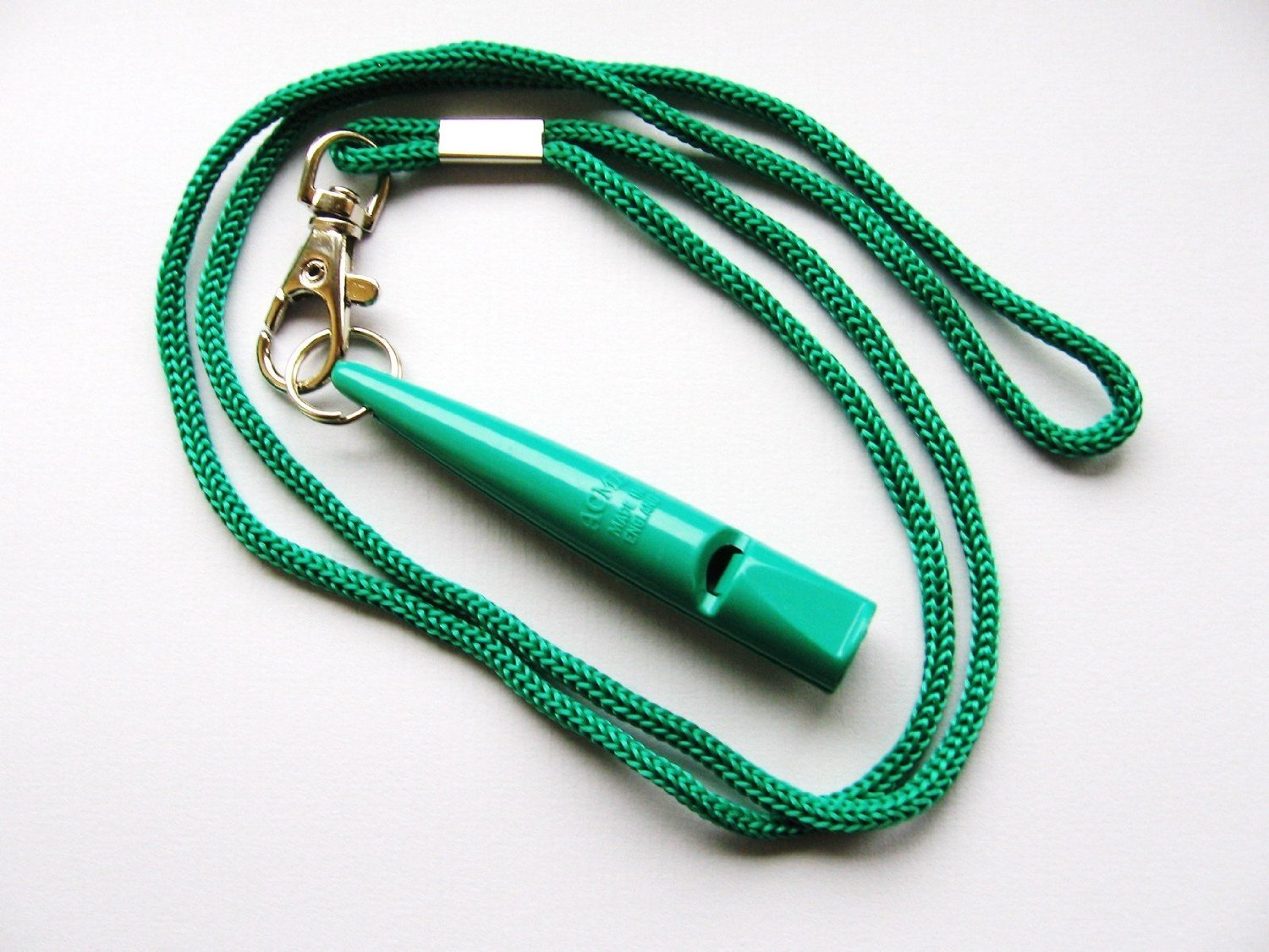 Acme 211.5 Dog Whistle Green with lanyard