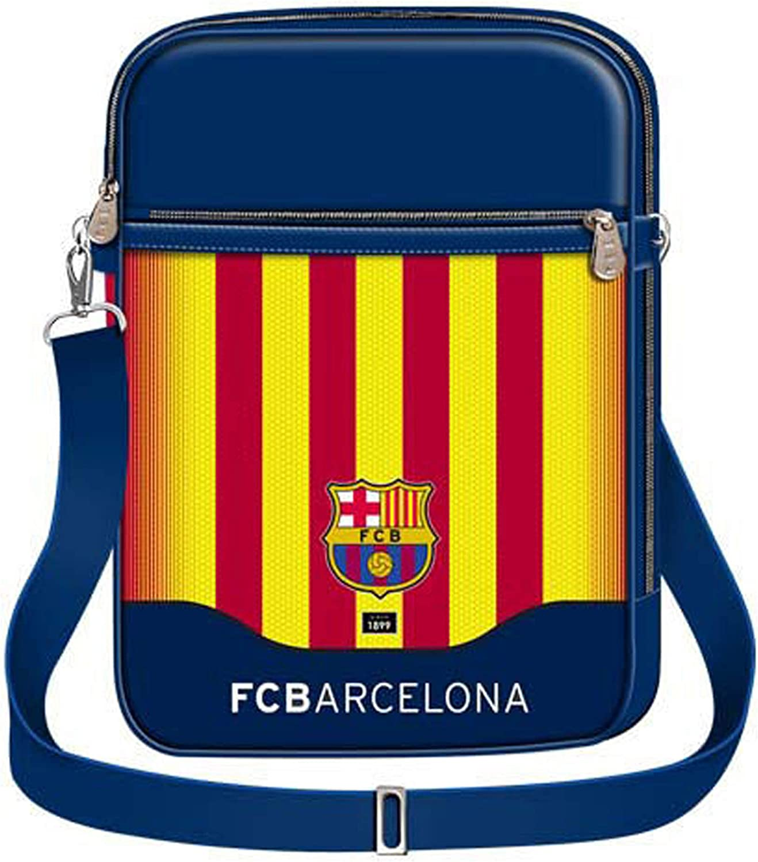 Karactermania FC Barcelona Senyera Bolso Bandolera Azul 28 cm