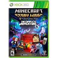 Minecraft: Story Mode The Complete  Adventure - Xbox 360 - Standard Edition
