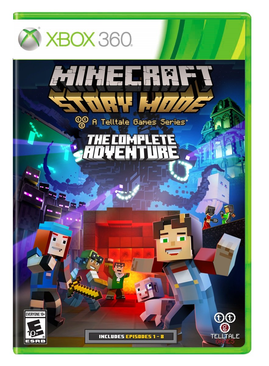 Minecraft: Story Mode- The Complete Adventure - Xbox 9
