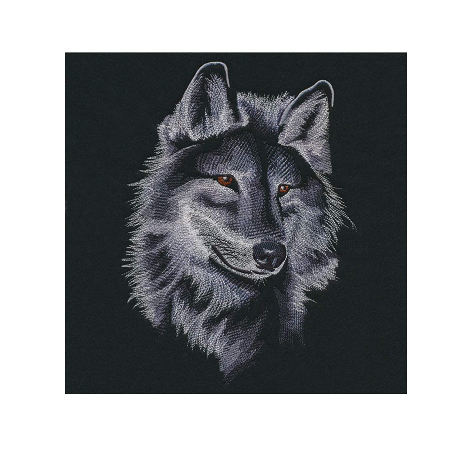 Wolf Custom Embroidered Sweatshirt Shirt