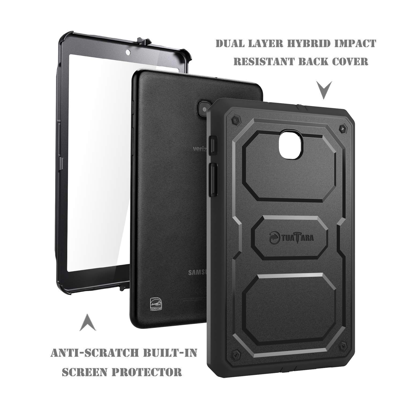 Galaxy Tab A 8.0 Case 2017 Model T380 T385 - Stand Folio
