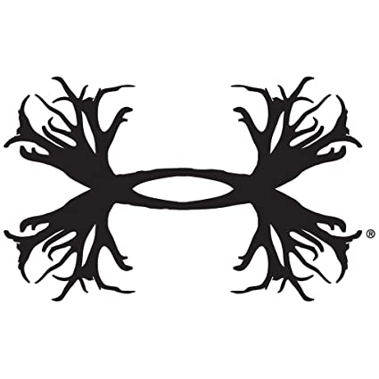 288ae551acc0 Amazon.com: Under Armour UA Antler Logo Decals - 2 pack One Size ...