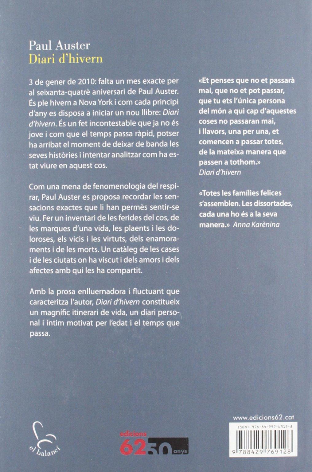 Diari dhivern (El Balancí) (Catalan Edition)