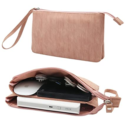 or Travel and SD Cards Office Spacious Organizer to Carry Laptop//Phone Charger USBs Manuchi Universal Cord//Cable Travel Case Portable Storage Bag for Electronics Accessories at Home Earbuds