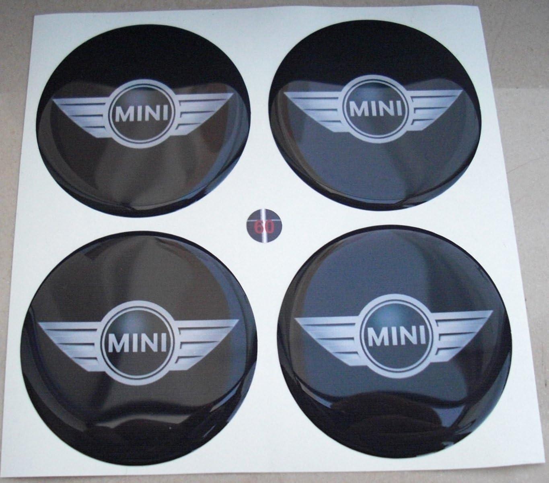 Mini alas 68 mm Negro Tuning Efecto 3d 3 m resinato coprimozzi ...