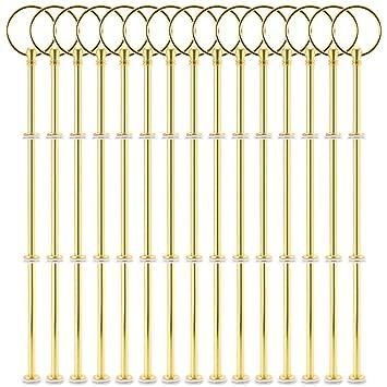 15 Sets Silber Gold Metallstange Mittellochausstech Fur 2 Bis 3