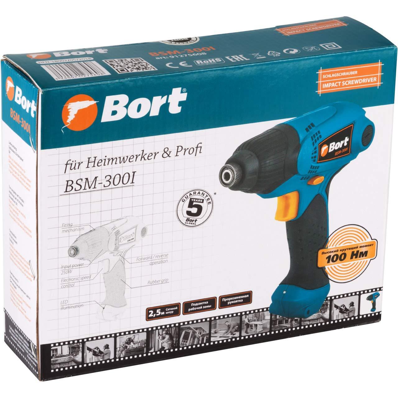 Bort BSM-300I Visseuse /électrique 250 W 100 Nm