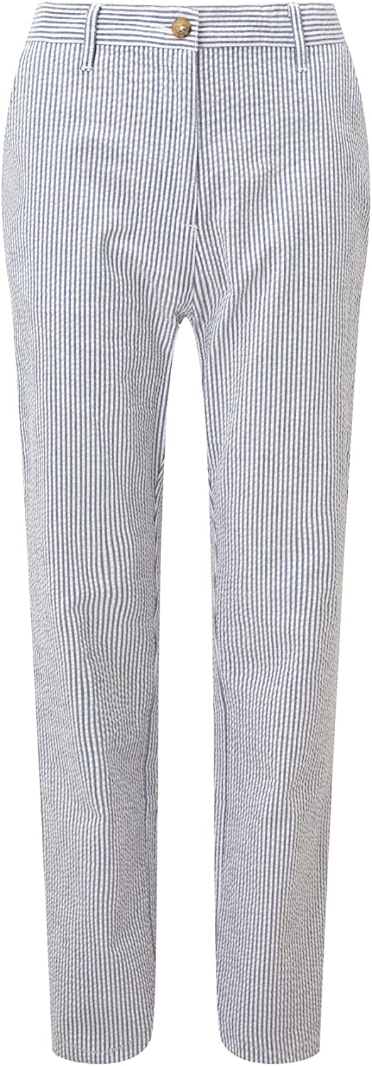 Cotton Traders Mens Seersucker Pants 29 inch