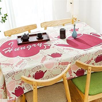 Schön Baumwolle Leinen Tisch Tischdecken Rechteckige Wohnzimmer Tischdecke Buch  Tischdecke, 100 X 140 Cm, E