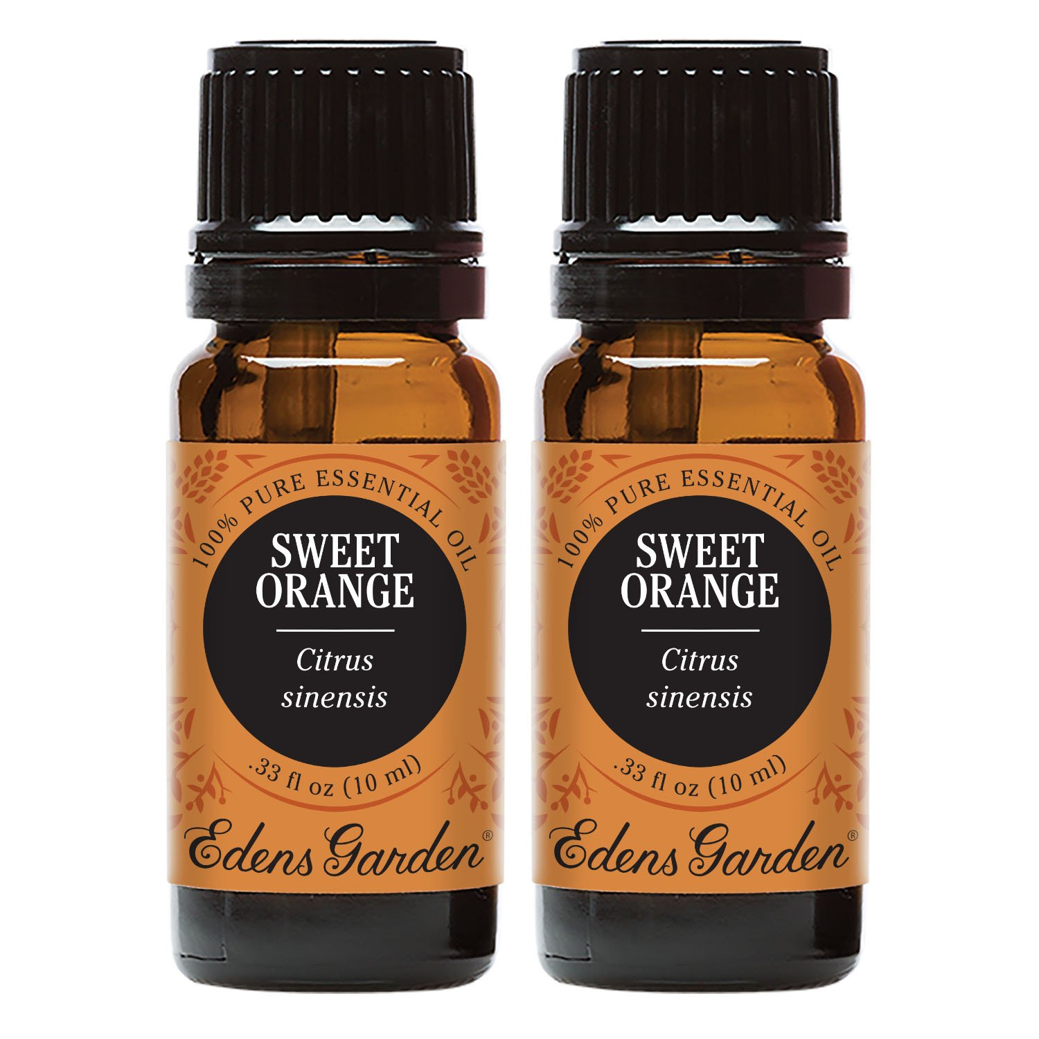 Edens Garden Sweet Orange Essential Oil, 100% Pure Therapeutic Grade (Aromatherapy Oils- Digestion & Inflammation), 10 ml Value Pack