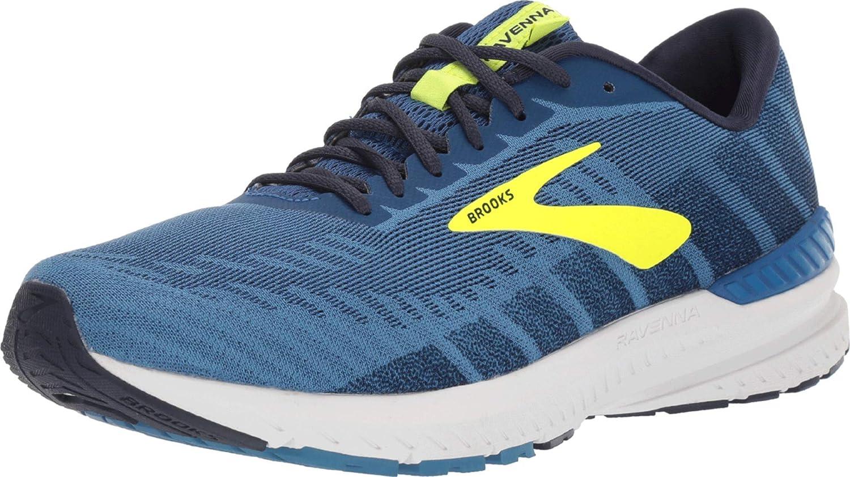 Blue Mens Brooks Ravenna 10 Mens Running Shoes