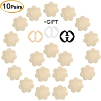 DaisyFormals reg; Satin Pasties Women Sexy Pasties Disposable Nipple Covers