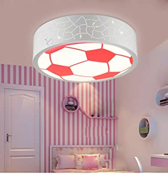 Amazon.com: Waineg Children\'s Room Light Creative Pink Football ...