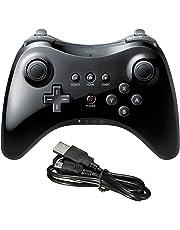 STOGA Wii U PRO Controller, Wired PRO Controller per Nintendo Wii U Gamepad Joystick Controller per Switch - Nero