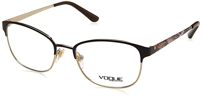 4a4a01393c Vogue - Monture de lunettes - Femme Marron marron Taille unique ...