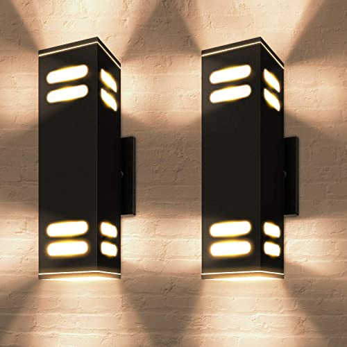ETL Certified Outdoor Wall Light Fixtures JACKYLED Up and Down Wall Mount Lamp