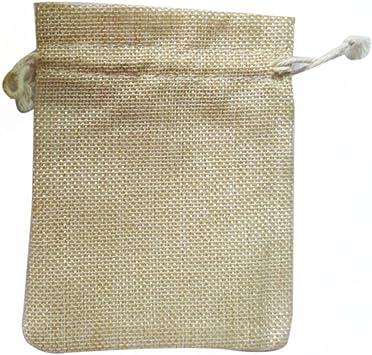 rosenice Sachet Pochette cadeau Bijoux 10/Sacs Sac en coton avec cordon de serrage