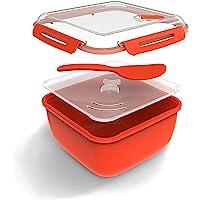 Rotho, Memory Microwave, Rijstkoker 2.5l met deksel en lepel voor de magnetron, Kunststof (PP) BPA-vrij, rood…