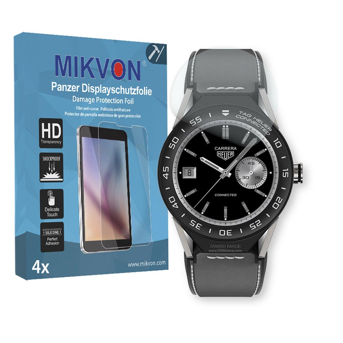 Mikvon 4X Película blindada protección de Pantalla Tag Heuer ...