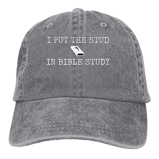 b360bb29abf Rainbow Space Unisex I Put The Stud in Study Cool Hat Natural at ...