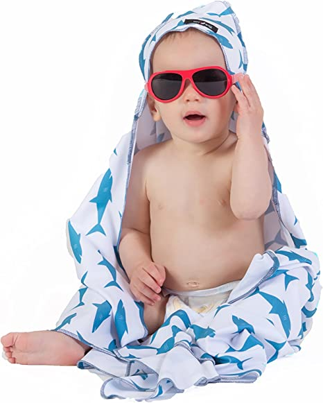 Flamingo Luv Bug Sunscreen Baby Towels