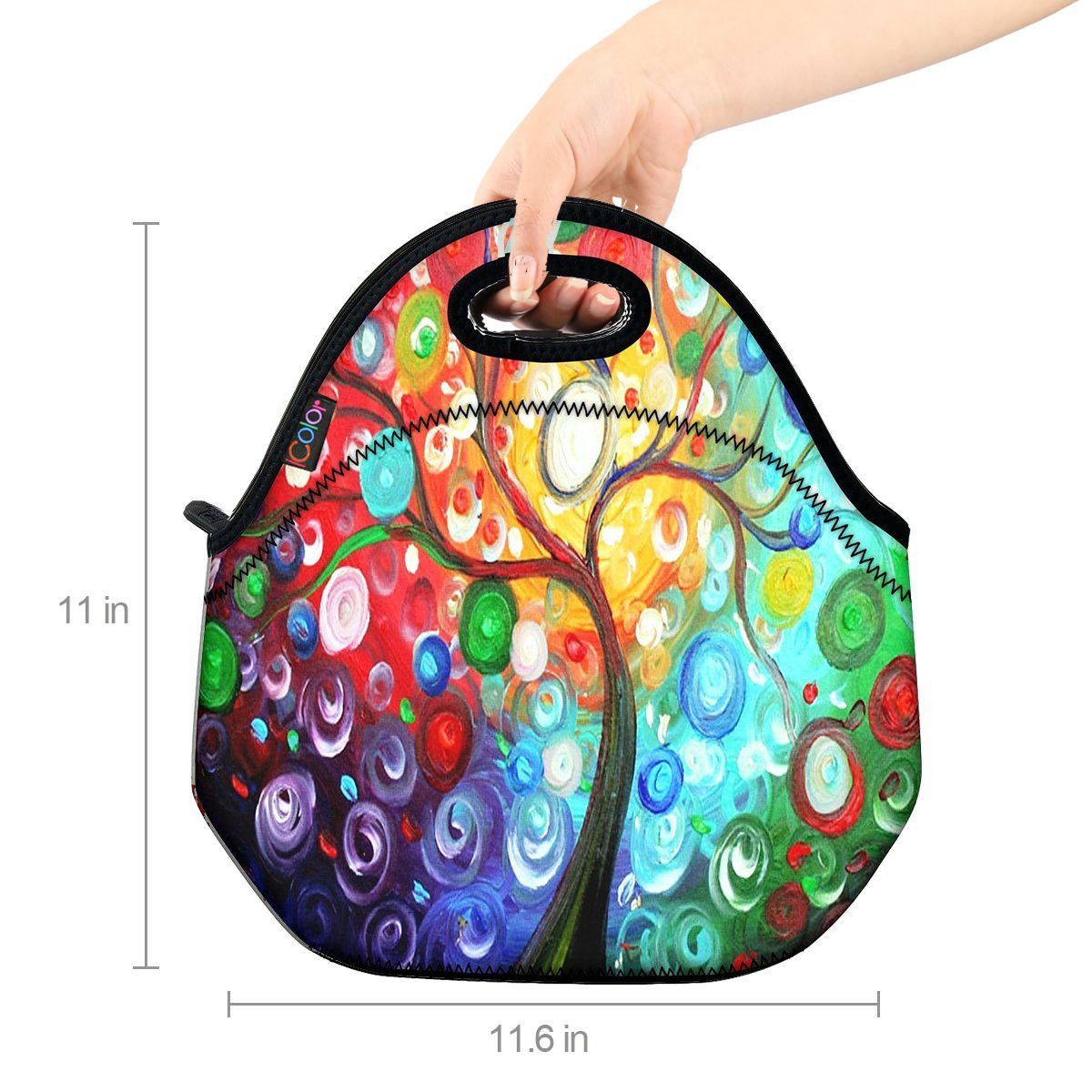 Handbag lunchbox Food Container Gourmet Tote Cooler warm Pouch For School work Office