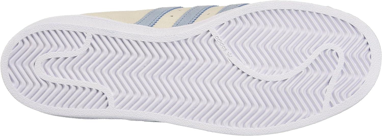 adidas Superstar, Basket Mode Homme Gris Pearl Grey Tactile Blue Tactile Blue