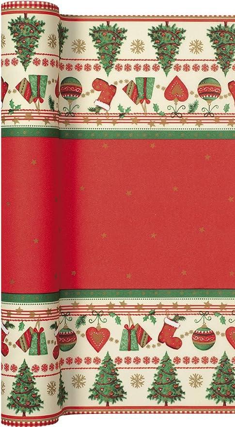 Camino de mesa papel Traditional Christmas - tradicional Navidad ...