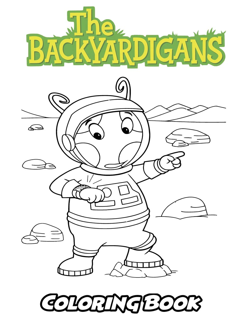 Amazon.com: Backyardigans Coloring Book: Coloring Book for ...